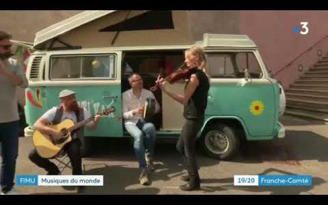 Live at France3 TV